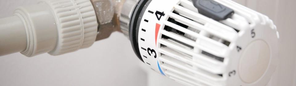 Draaiknop van verwarming