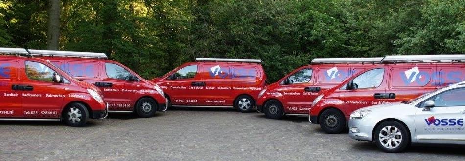 CV monteur Haarlem met bedrijsauto